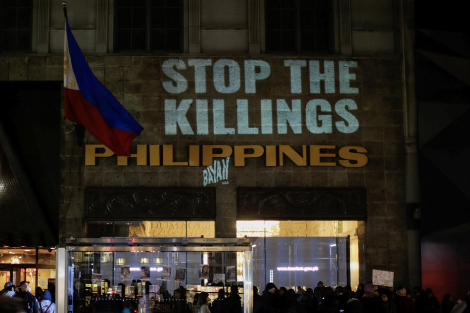 'Stop the Killings' protest in New York