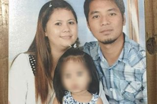 Grieving dad pins hope on NBI to solve wife, kid's slay
