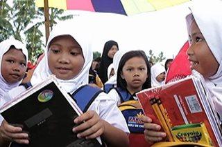 Bags, school supplies, handog sa mga estudyante ng Marawi