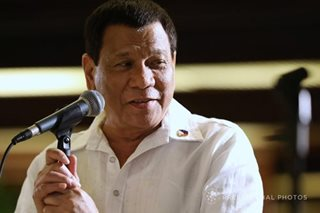 Duterte insists ICC can't try him