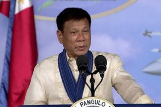 Duterte: Some Filipinos not yet ready for federalism