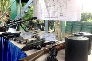 173 NPA sa Davao del Norte, ComVal, sumuko sa militar