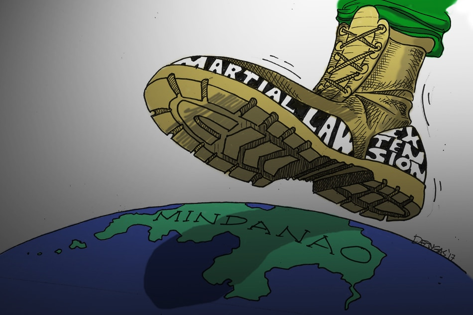 Squashing lawlessness: Mindanao martial law extended