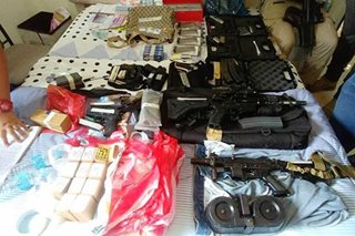 PDEA seizes guns, drugs, cash in Maguindanao