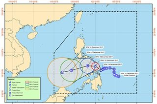 'Urduja' maintains strength, continues to batter Eastern Visayas