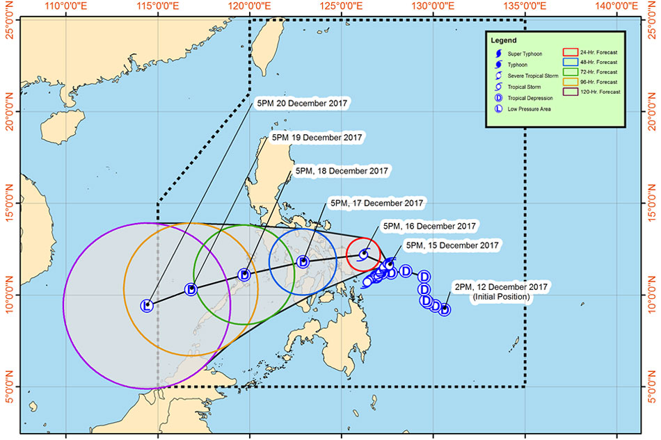 Over 30 killed, 49 missing in tropical storm in Philippines