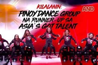 Kilalanin: Pinoy dance group na runner-up sa Asia's Got Talent