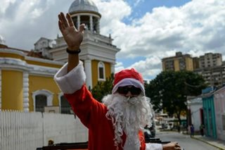 Food, clothes for poor in not-so-merry Christmas for Venezuela