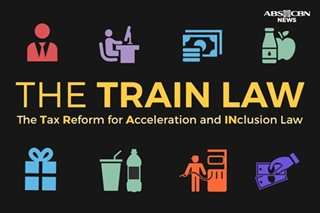 The Tax Reform for Acceleration and Inclusion or TRAIN Law