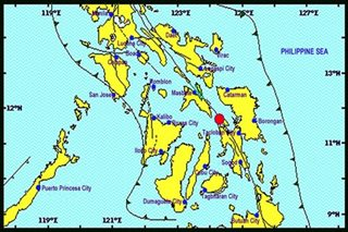 Quakes hit 'Urduja'-ravaged provinces