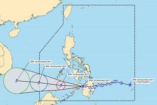 'Vinta' weakens into tropical depression