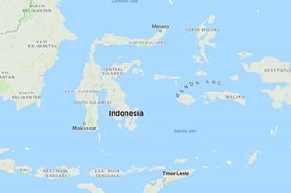 6.3-magnitude earthquake rocks Indonesia's Papua