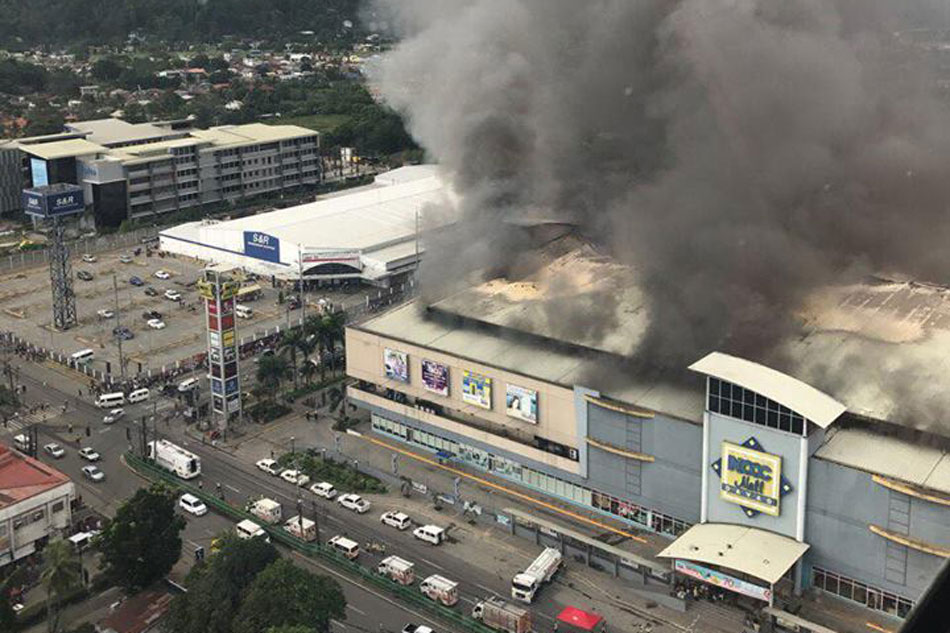 At least 37 feared dead after shopping mall fire in Philippines