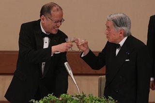 Ex-President Aquino praises Emperor Akihito's selfless decision to abdicate