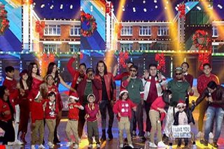 'Ang Panday' stars perform Christmas medley on 'ASAP'