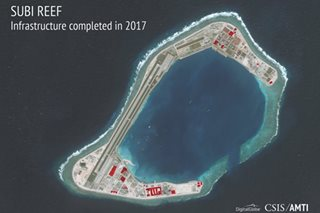 China confirms 'reasonable' expansion of S. China Sea islands