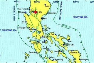 Magnitude 4.8 quake hits Nueva Vizcaya