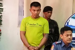 Suspected NPA rebel nabbed in Cebu on Christmas eve