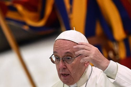 Pope says closing firms without protecting workers 'very grave sin'