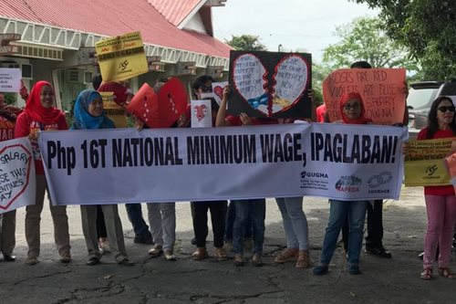 LOOK: 'Hugot' lines, 'harana' for pay hike