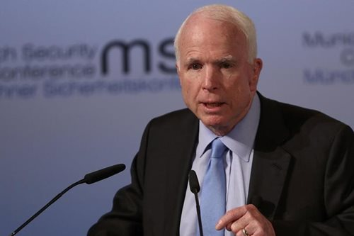 Suppressing free press is 'how dictators get started': Senator McCain