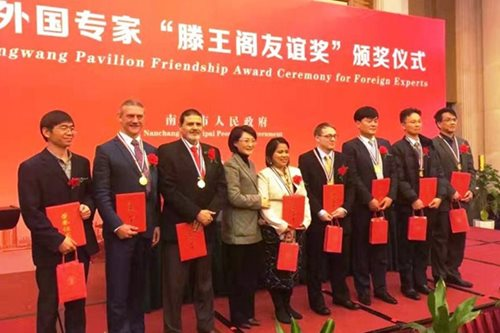 Pinay teacher honored in China