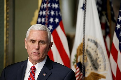 'Time has come' to create U.S. Space Force: Pence