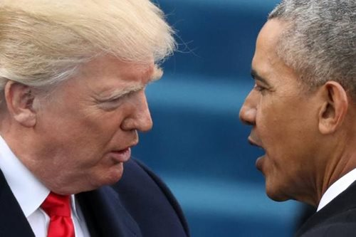 Trump claims Obama wiretapped him during campaign; Obama refutes it