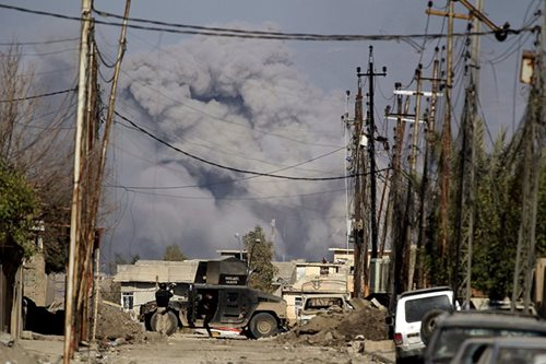 Iraq says no sign of IS chemical weapons use in Mosul