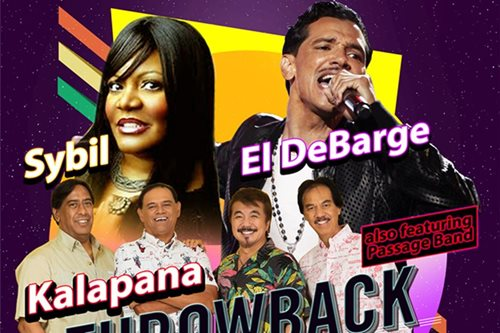 El DeBarge, Sybil, Kalapana to hold shows in PH