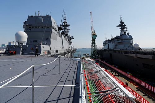 Japanese navy boosts overseas force projection capability with second big helicopter carrier