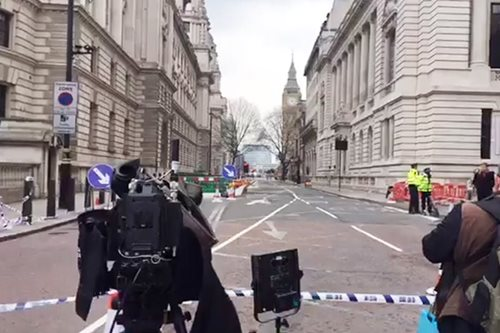 LOOK: Westminster a 'ghost town' after UK parliament attack