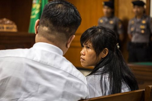 Veloso's death row reprieve in peril over blocked testimony: lawyer