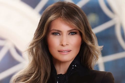 Melania Trump's new portrait divides public opinion