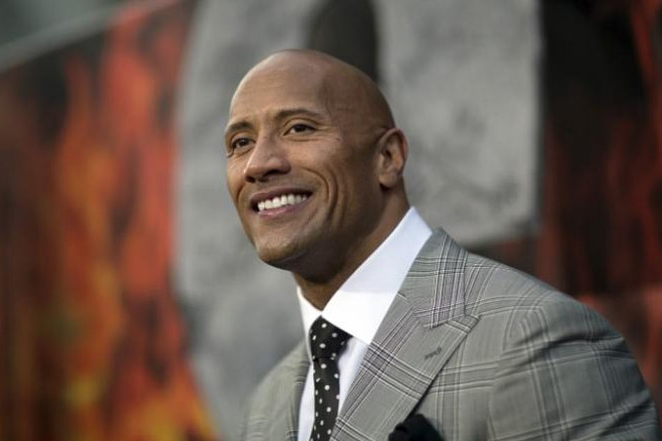 Dwayne Johnson leads Forbes list of highest-paid actors
