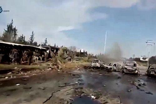 Dozens dead as car bomb hits Syria evacuees