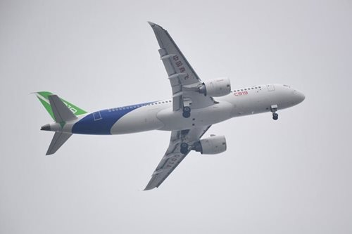 China's homegrown jet lands successfully after maiden flight