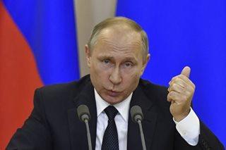 Putin insists Trump did not pass secrets to Russia