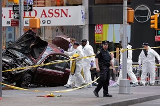 No Pinoys hurt in Times Square incident