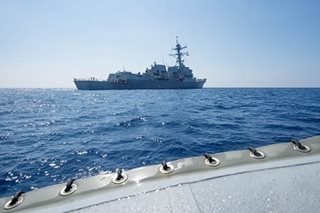 China says it warned US warship to leave S. China Sea