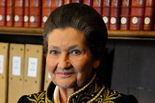 French Holocaust survivor Simone Veil dies at 89