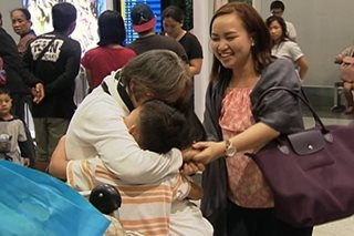OFW mom back home for good after Asia tour with 'bunso'