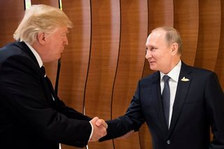 LOOK: Putin, Trump shake hands at G20 in first encounter