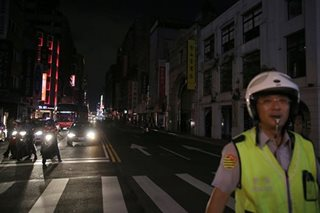 Taiwan suffers massive power cut, affecting millions of households