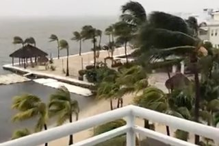Hurricane Irma roars into Florida Keys, brings deadly storm surge
