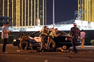Automatic weapons may have been used in Las Vegas massacre