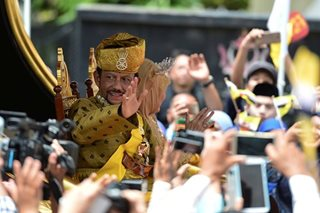Sultan of bling: Brunei monarch marks golden jubilee in style