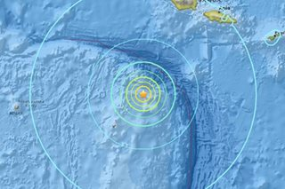 6.8-magnitude quake off Tonga, no tsunami threat