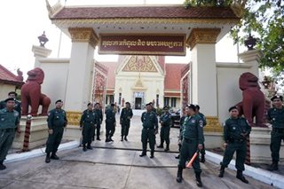 Cambodia's main opposition party dissolved by Supreme Court