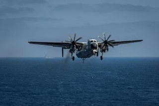 US Navy halts search for three sailors lost in Philippine Sea air crash